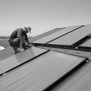 Kymar Elektro installerer fornybare energiformer